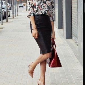 Black Leather Skirt, 10